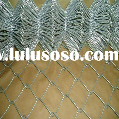 roller chain link fence