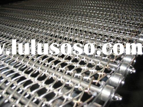 stainless steel flat wire chain drive belt
