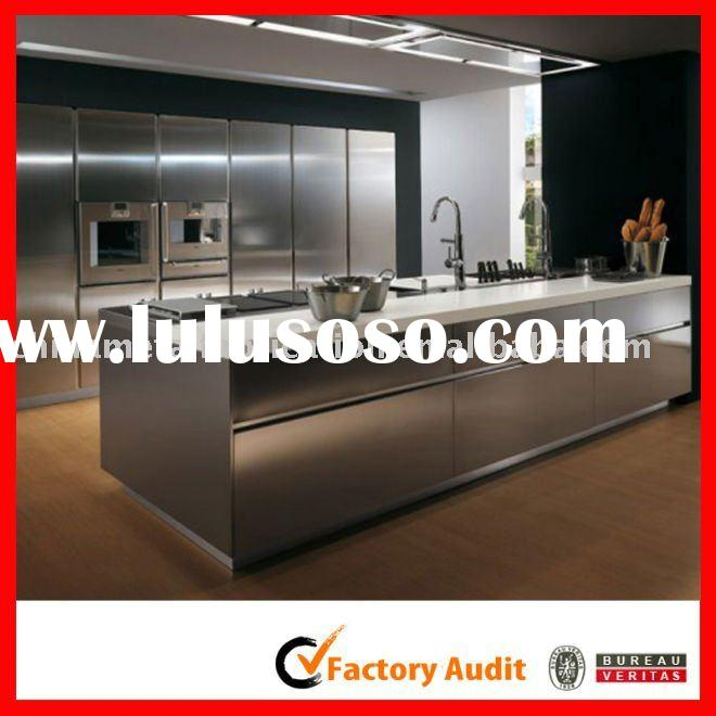 Stainless steel base cabinets for sale price china for Stainless steel kitchen cabinet price