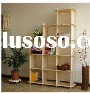 wooden rack ,flower stand, wooden shelves, shelving unit