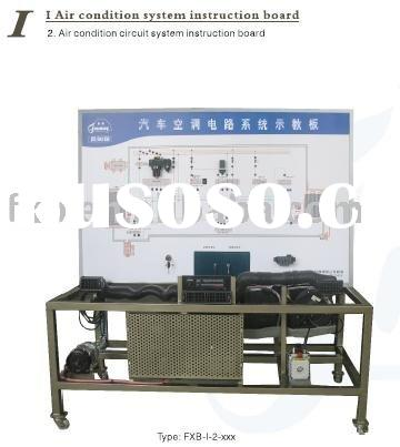 Air bag and aircondition automobile teaching equipment