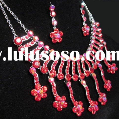 Fashion jewelry set Necklace and earring NLER10001