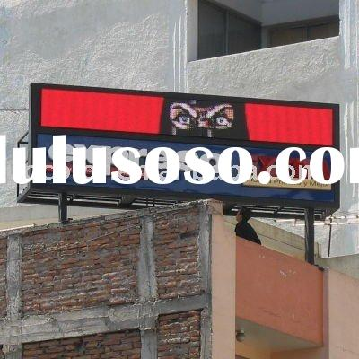 P14 full color outdoor led signs