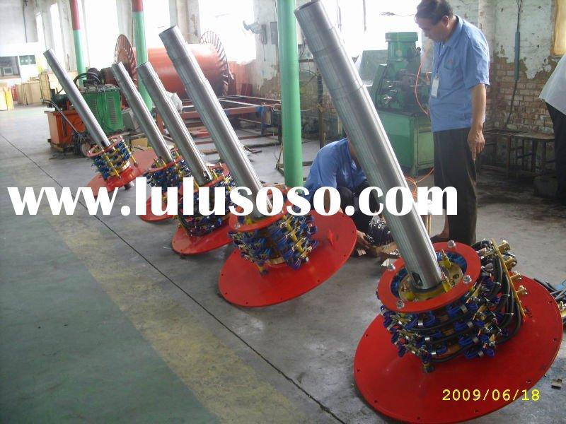 Rotary current transmission collector