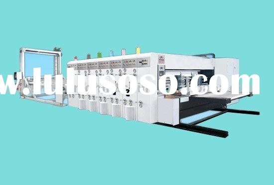 TB-480 automatic five color printing slotting&die-cutting machine