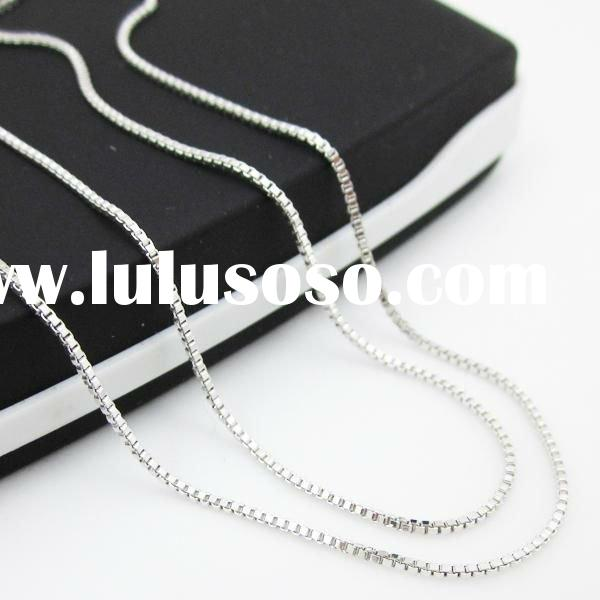 Wholesale Platinum necklace chain /4.14g  43cm L /gold necklace