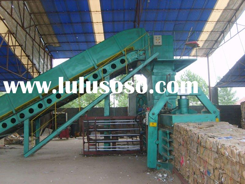 YWQ series full-automatic waste paper baler