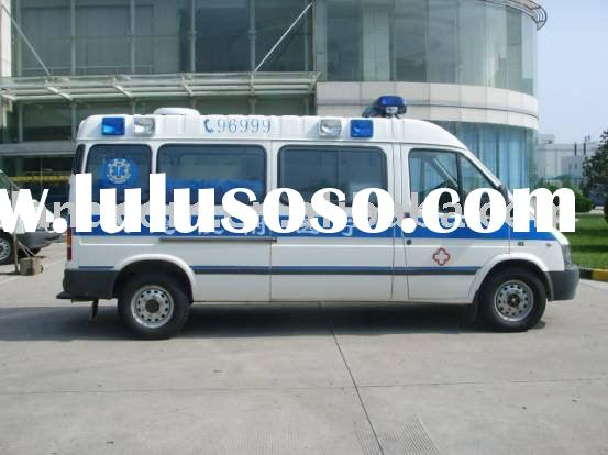 (Manufacturer): Intensive Care Ambulance Vehicle with Ford chassis