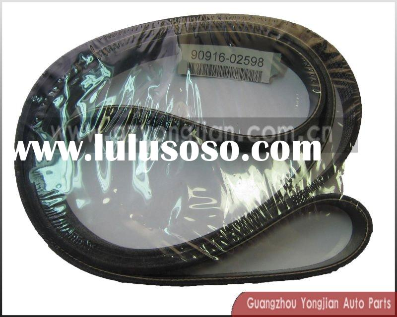 fan belt 90916-02598 for  TOYOTA car parts
