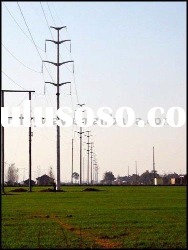 transmission line angle steel tower
