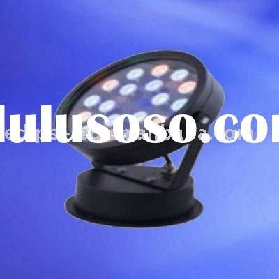 18W Outdoor RGB LED Flood Light(Color Changing)