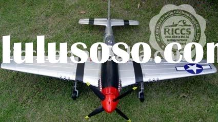 2.4G 6ch P51 Large scale rc airplane, EPO material,Retractable landing gears rc plane model