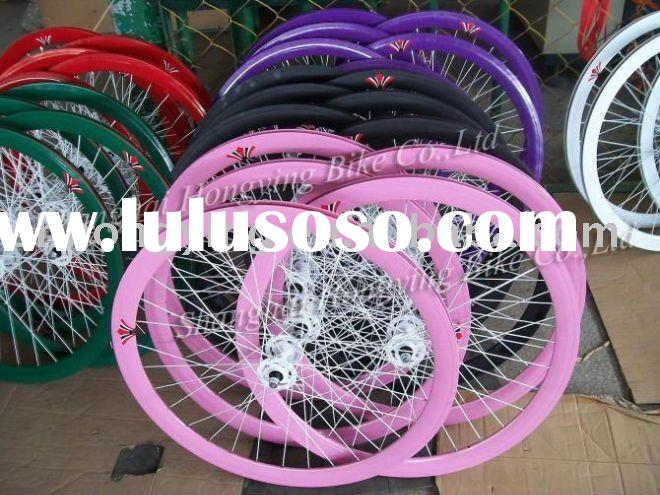 700c 42mm fixed gear alloy bicycle wheels