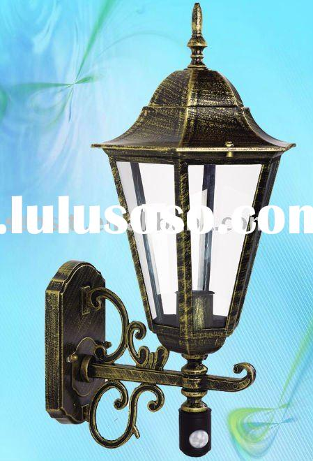 Aluminum Die-casting Outdoor Wall Lamp with Infrared Motion Sensor  (60W)