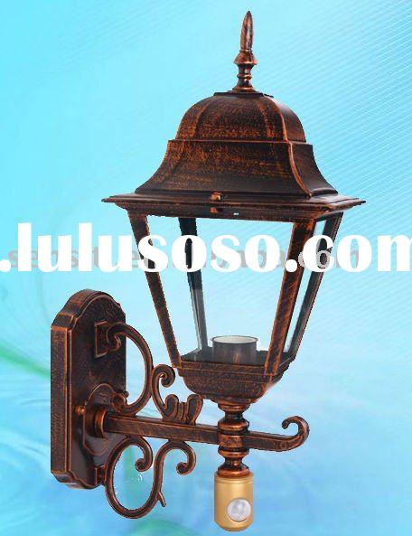 Aluminum Die-casting Outdoor Wall Light with Motion Sensor  (60W)