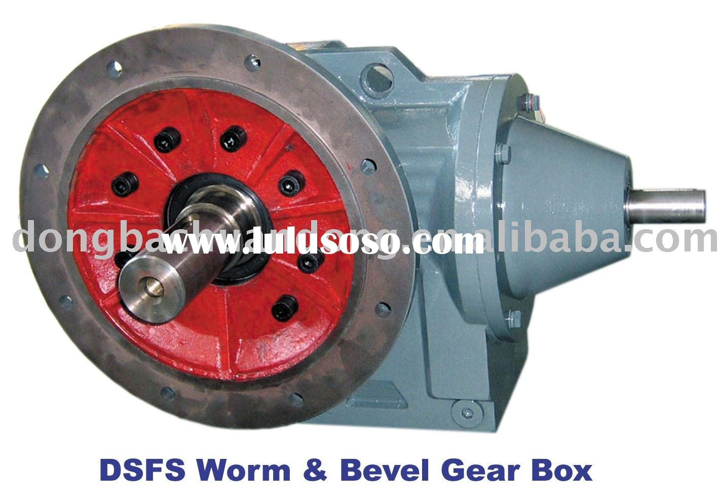 DS series worm & bevel gearbox(gear reducer)