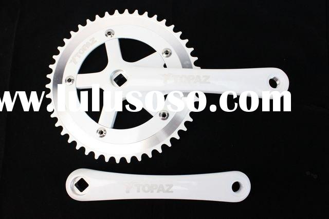 Fixed Gear Professional TOPAZ White Bicycle Chain Wheel