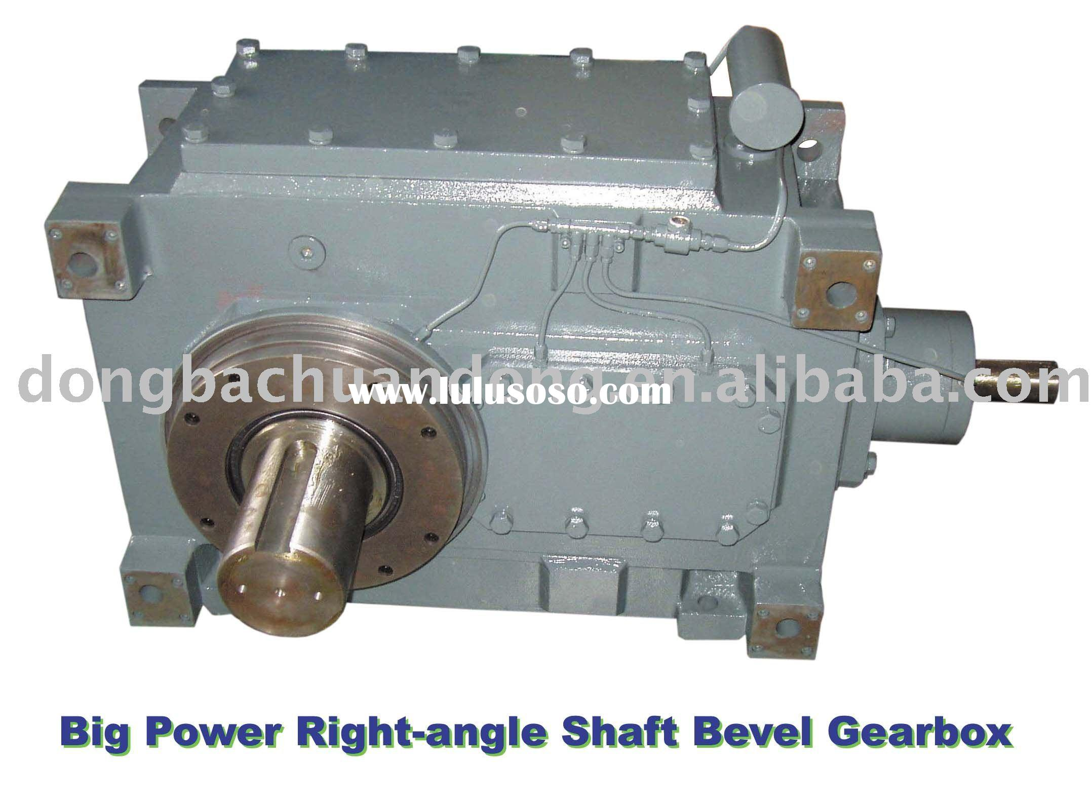 Gear Box(Right-angle Shafts & Spiral Bevel Gear Reducer