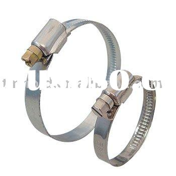 German type stainless steel worm drive hose clamp with band width 9mm &12mm