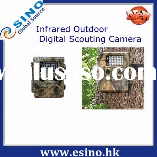 Infrared Outdoor Digital Scouting Camera , mini stealth camera , Hunting Game Camera