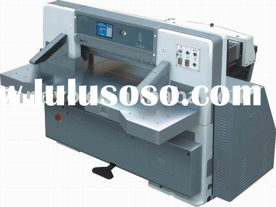 Innovo Touch screen double hydraulic double guide paper cutting machine