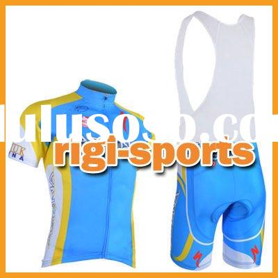 Pro Team Short Sleeve Cycling Jerseys Bib Shorts Set/Cycling Wear/Cycling Clothing/Cycling Gear/Cycl