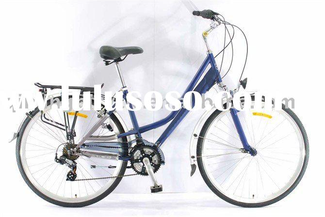 """QM-107 alloy frame lady road bike bicycle26""""with shimano gearing"""