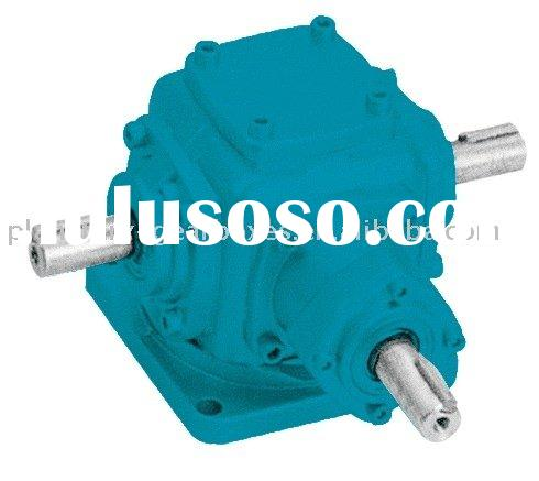 Right angle shaft & spiral bevel gear reducer