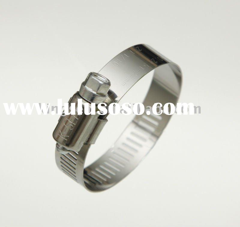 SAE J1508 Stainless Steel Clamp