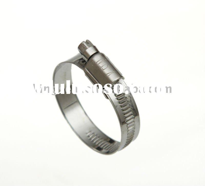 SAE J1508 Stainless Steel German Type Pipe Clamp