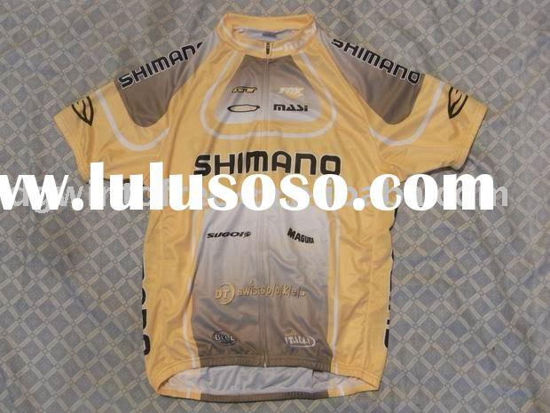 SHIMANO cycling wear, bicycle wear, bike jersey