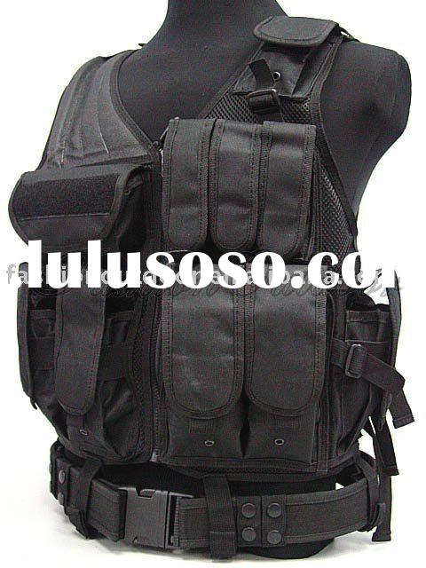 SWAT US Army Airsoft Tactical Vest BK 70132 Military equipment