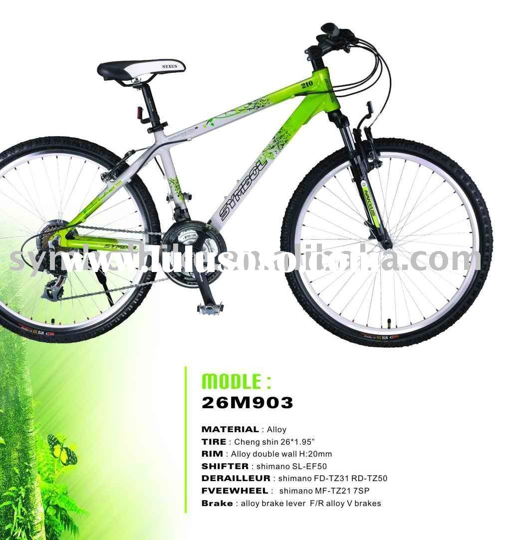 Shimano  alloy mountain bicycle