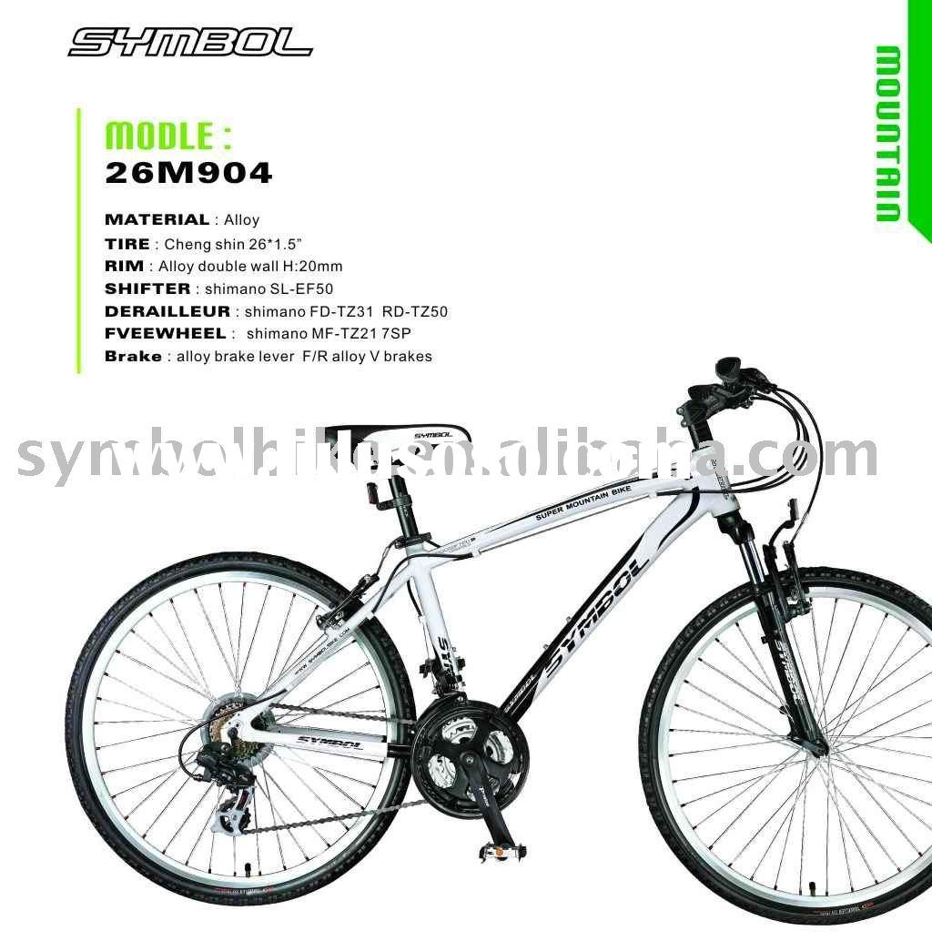 Shimano gear mountain bicycle