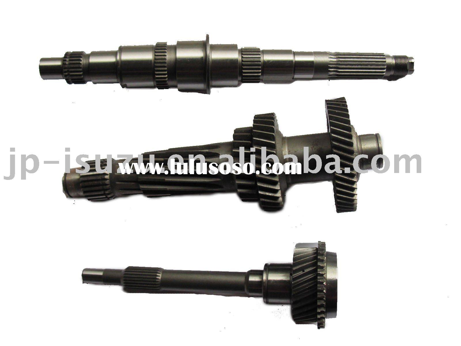 auto transmission top gear shaft and main axle