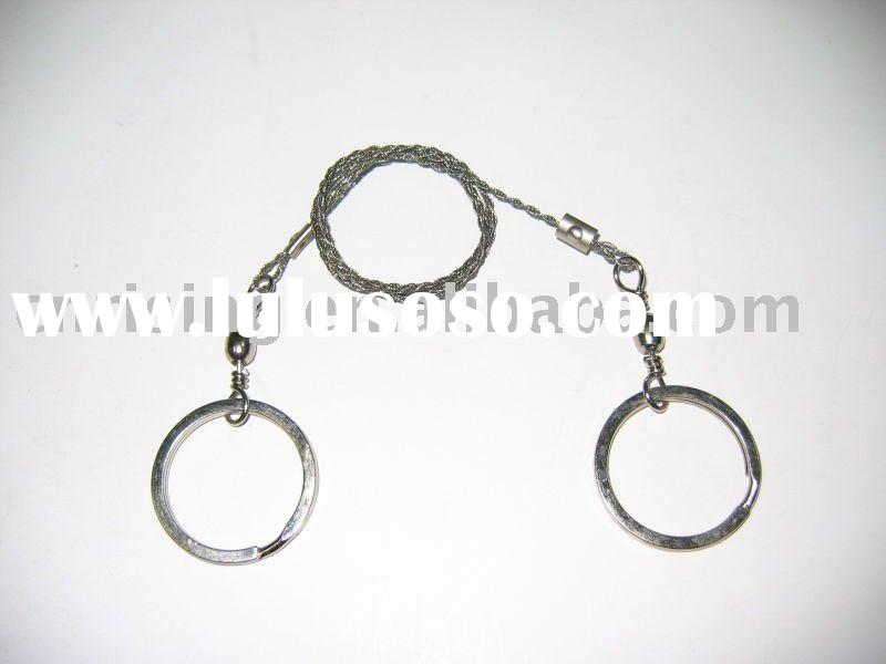 camping equipment (Pocket survival wire saw)
