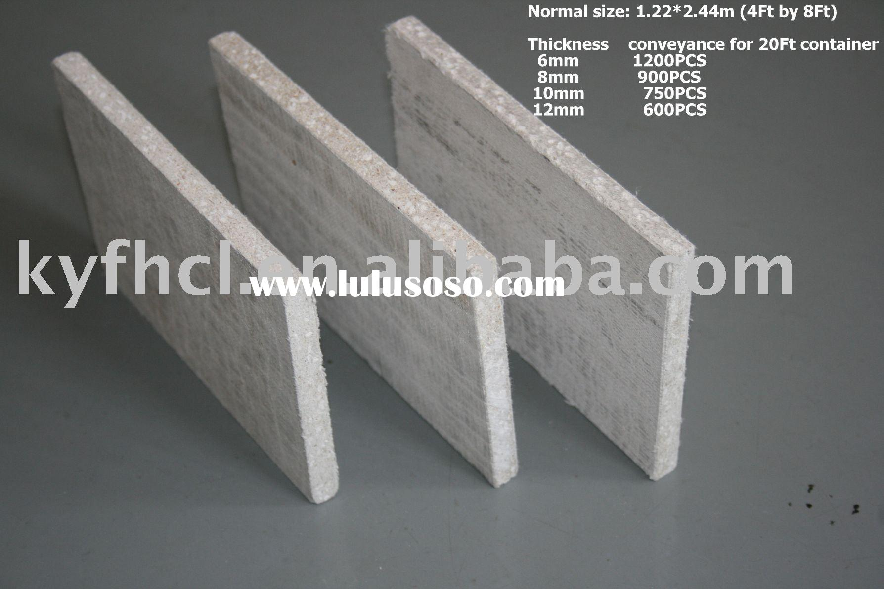 magnesium oxide fireproof board/fiber cement board/FCP