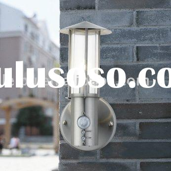 outdoor wall  lamp with motion sensor