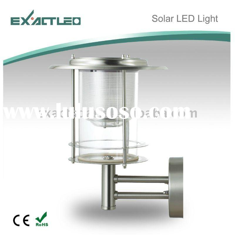 stainless steel solar outdoor light