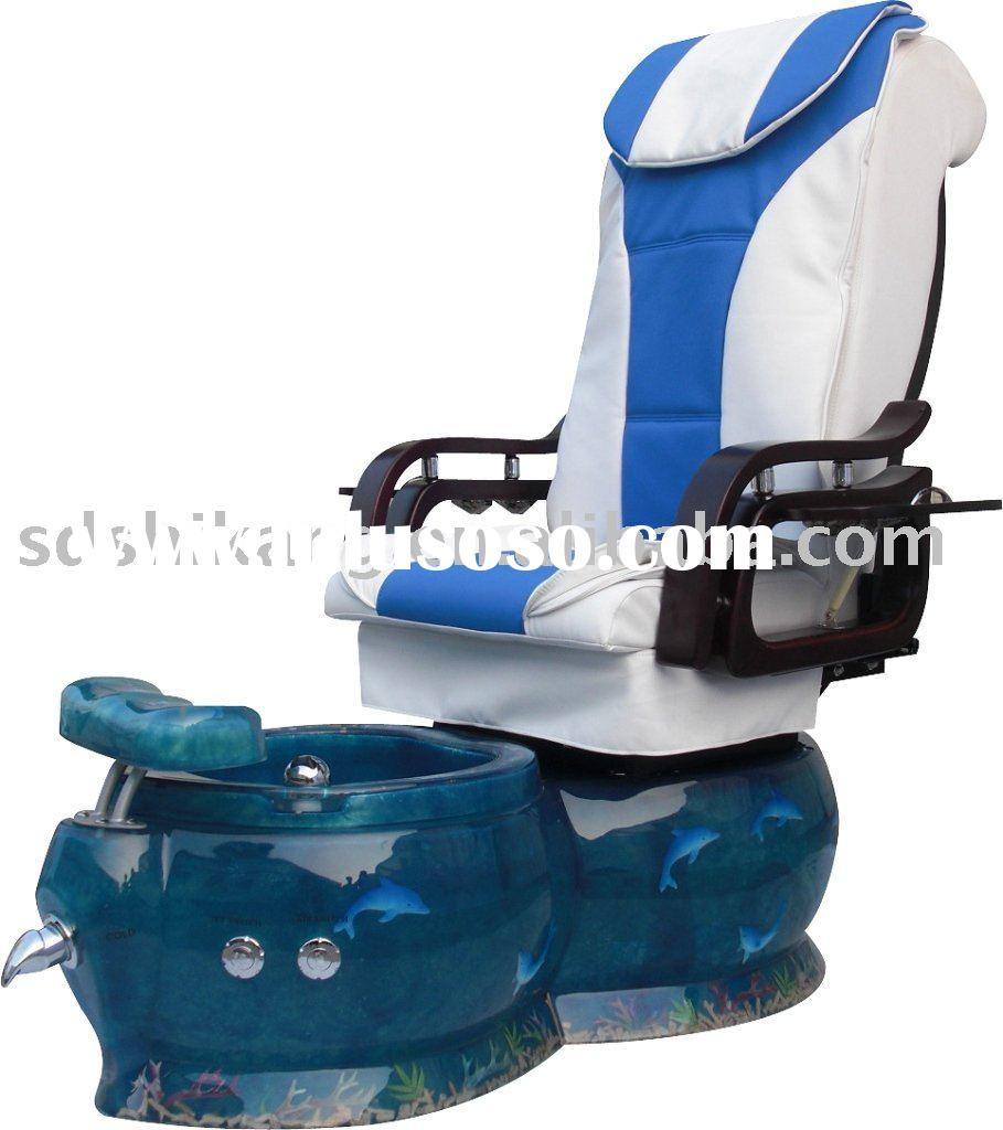 Beauty Pedicure spa chair with fish basin (SK-936B)