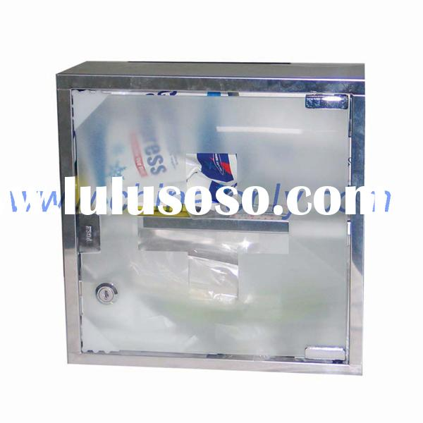 F-013 wall bracket metal first aid box