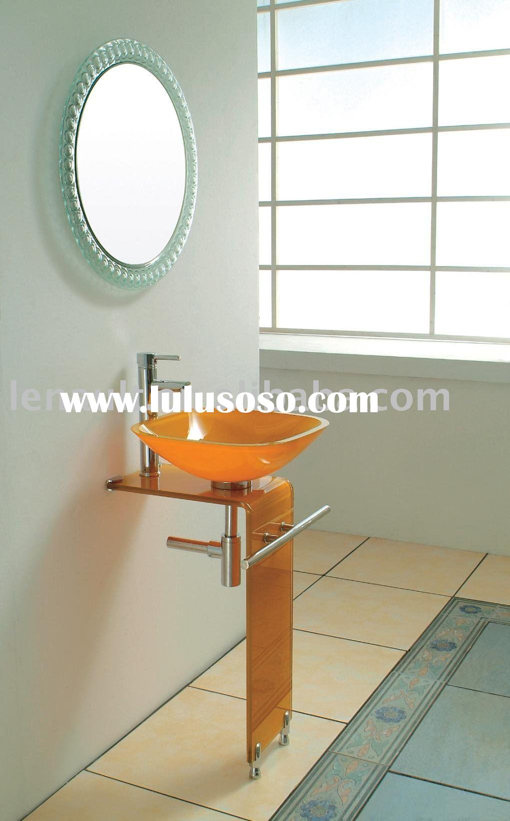 Glass basin,Bathroom vanity