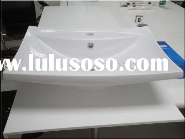 High quality acrylic washbasin &artificial stone basin&integrated sinks& counter top bas