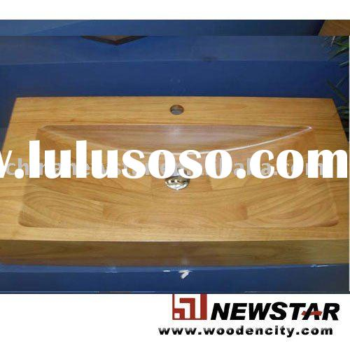 Offer wooden sink, wood washing basins