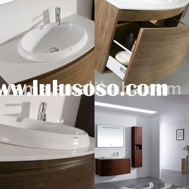 Offering high quality modern bathroom wall cabinets V-17029