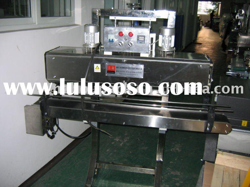 PVC Sleeve Label Far Infrared Shrink Tunnel Machine for PVC Sleeve Label on PET Plastic Bottle Cap