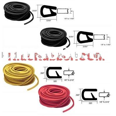Rubber Seal/ Rubber Edge Trim/ Door and Window Seal/ Sealing Strip