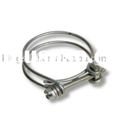 SAE Type A Stainless Steel Double Wire Pipe Clamp