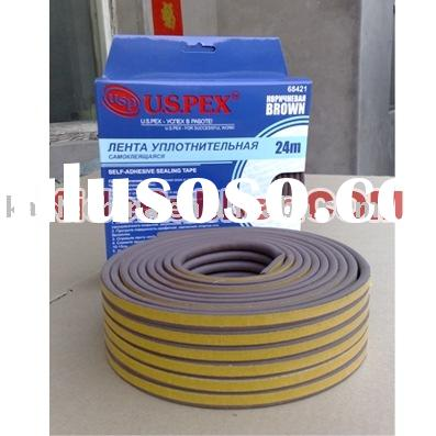 Self-adhesive door and window seals/ EPDM sponge door seals