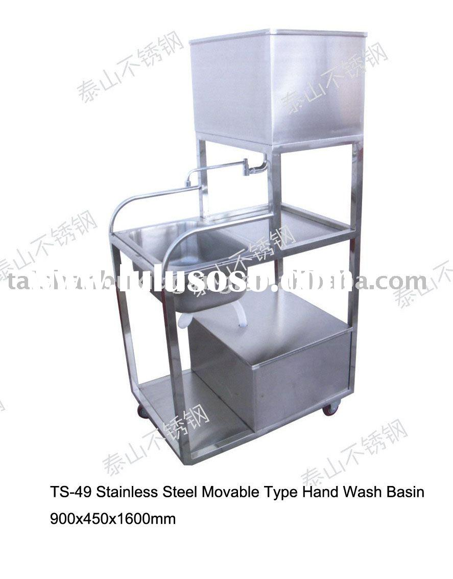 Stainless Steel Movable Hand Wash Basin